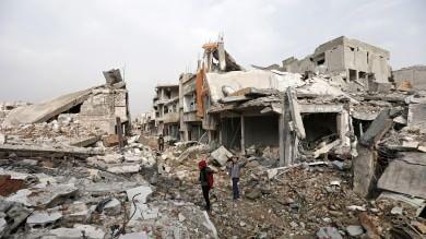 Fotostoria  Kobane liberata, le immagini Reporter:  una Stalingrado , solo macerie