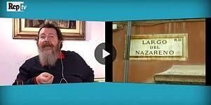"""Il lapsus di Giuliano Ferrara """"Il pazzo del Nazareno"""""""