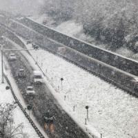 Maltempo, freddo e neve al Sud: scuole chiuse a Cosenza, tempesta sull'Etna