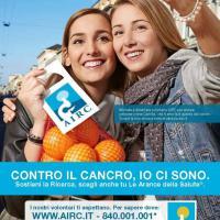 Cancro e prevenzione, tornano le arance dell'Airc