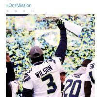 Nfl, il mondo di Wilson sui social network: l'assistenza a chi soffre, il team e il Super Bowl