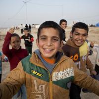 Kirkuk, nel campo profughi con i peshmerga