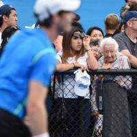 """Australian Open, la """"passione Murray"""" non ha età"""