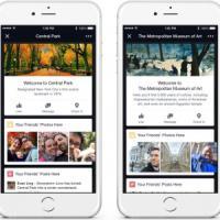 """Facebook presenta """"Place Tips"""", suggerirà luoghi da visitare"""