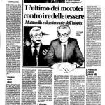 Mattarella, 35 anni di politica quotidiana