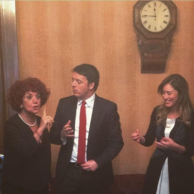 Renzi l 39 attesa e la gioia per mattarella presidente il for Votazione camera dei deputati
