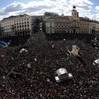 Madrid, ''Podemos'' contro l'austerity: in migliaia al corteo