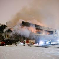 Mosca, in fiamme storica biblioteca dell'Accademia delle Scienze