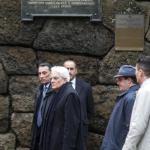 Mattarella, primo atto da Presidente: visita alle Fosse Ardeatine