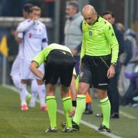 Genoa-Fiorentina, Rizzoli si fa male: cambia l'arbitro