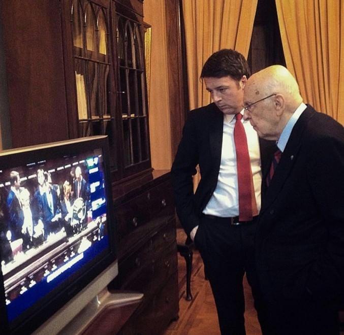 Renzi, il diario del Colle / Le immagini