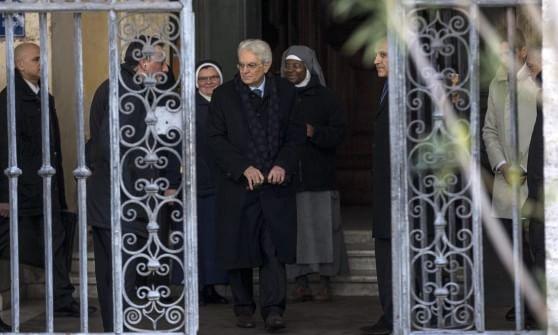 """Mattarella chiama Ciampi: """"Tu puoi capire le mie preoccupazioni"""". Poi visita-omaggio a Napolitano"""