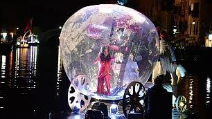 Renzi star dei carri del Carnevale di Viareggio