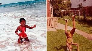 """Michelle e Obama bambini    """"Non restate senza mutua"""""""