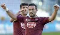 Quagliarella scatenato, tripletta Il Torino umilia la Sampdoria   foto