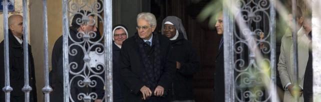 """Mattarella va a casa di Napolitano -   video   A Ciampi dice: """"Capisci mie preoccupazioni"""""""
