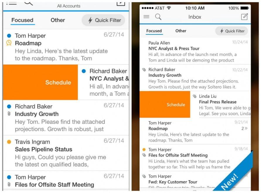 E' arrivato Outlook per iPhone e iPad
