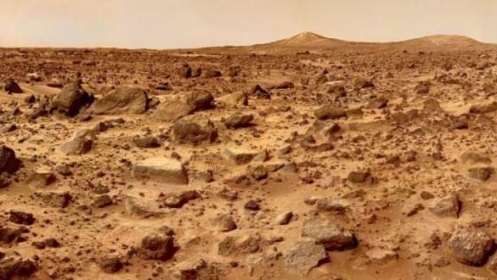 Marte, pianeta non solo rosso ma anche in grigio e nero