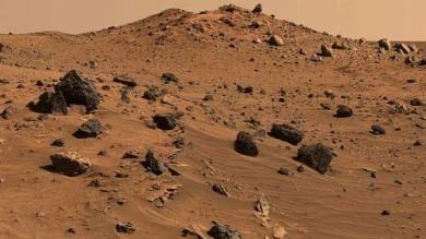 Marte il misterioso Pianeta rosso? Non solo. È anche grigio e nero