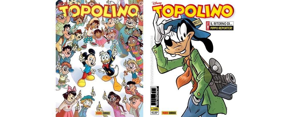"""Topolino, bloccata copertina pro Charlie-Hebdo. La Panini: """"Era solo un'ipotesi"""""""