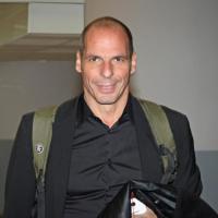 Ministro delle finanze greco Varoufakis arrivato a Roma