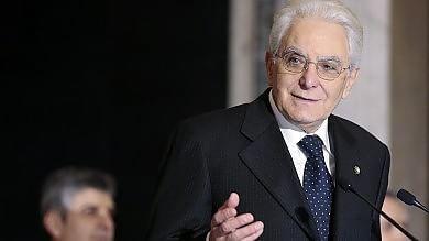 Mattarella scrive discorso di insediamento Le dimissioni da giudice della Consulta