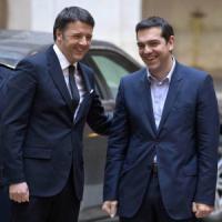 """Renzi a Tsipras: """"Da voto greco messaggio di speranza"""""""