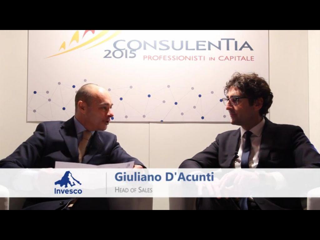 """Giuliano D'Acunti (Invesco) """"Strategia multi asset:  la più adeguata""""   (video)"""