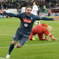 Napoli-Inter 1-0, azzurri in semifinale: Higuain decide in extremis