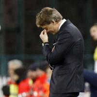Inter, Mancini incredulo: ''Abbiamo preso un gol da polli''