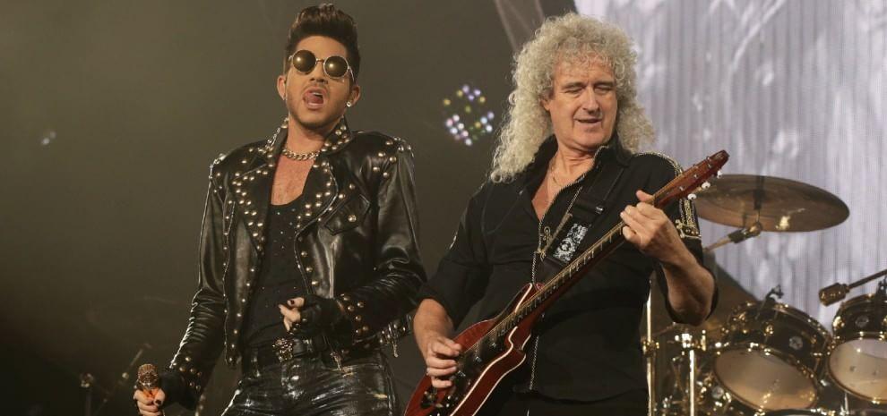 I Queen di Adam Lambert alla prova del palco. E Tricky presenta se stesso: Adrian Thaws