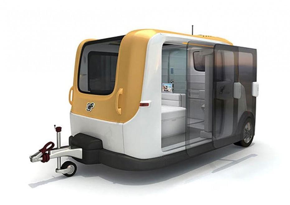 """Galleggiante o a """"capsula"""": ecco i camper del futuro ..."""