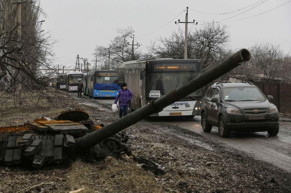 Ucraina, un milione di civili in fuga dalle zone di guerra