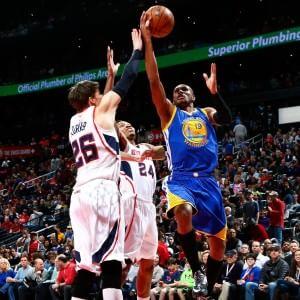 Basket, Nba: Atlanta vince la super sfida con Golden State, si ferma Cleveland