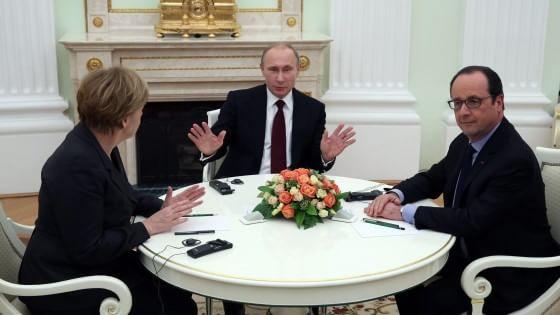 Ucraina, ultima chance di un negoziato. Hollande: se fallisce c'è solo la guerra