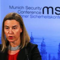"""Ucraina, Mogherini: """"Non esiste alternativa a soluzione diplomatica"""""""