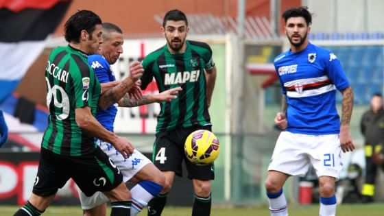 Sampdoria-Sassuolo 1-1, botta e risposta tra Acerbi ed Eder