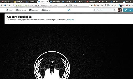 """Anonymous: """"Abbiamo violato la rete jihadista"""""""