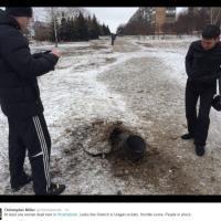 Kiev, missili su Kramatorsk: le foto su Twitter