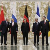Crisi Ucraina, summit tra leader a Minsk: foto di gruppo