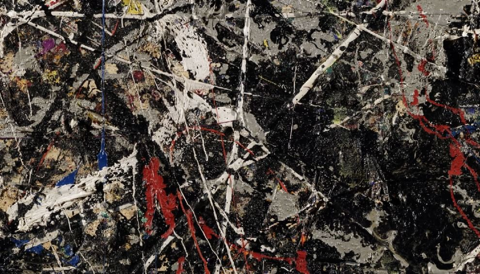 Alchimia, il Pollock restaurato