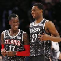 Basket, All Star Game Nba: Rising Challenge al Resto del mondo, Wiggins mvp