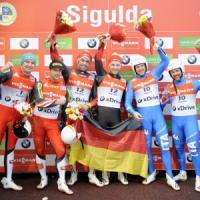 Slittino, Mondiali: Oberstolz e Gruber conquistano il bronzo