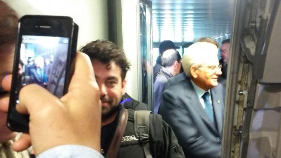 Mattarella in visita privata a Palermo con un volo di linea