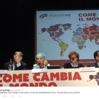 Emma Bonino, prima uscita pubblica dopo l'annuncio della malattia