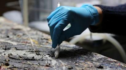 A Venezia il Pollock restaurato   foto    Alchimia è anche in alta definizione