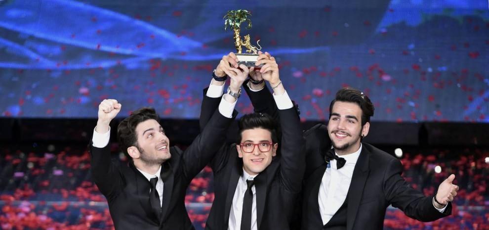 Sanremo, vince Il Volo: sul podio anche Malika e Nek