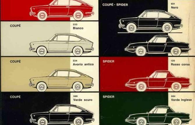 Fiat 850 Coupé e Spider, 50 anni di sogni italiani