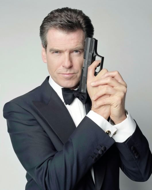 The World S Best Photos Of Guns And Spy: Pierce Brosnan Candida Idris Elba Primo 007 Di Colore