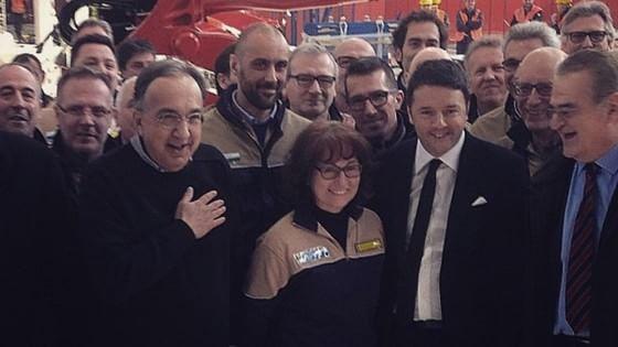 Renzi e Marchionne cronistoria di un amore sbocciato a San Valentino di un anno fa